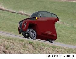 מתקדם, קטן וירוק: סטודנטים פיתחו רכב חשמלי וזכו בתחרות