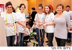 סטודנטים עיצבו תחפושות לילדי איזי שפירא בפרויקט התנדבותי מרגש
