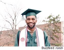 הצעיר מעורר ההשראה שסיים את הלימודים, כנגד כל הסיכויים